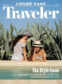 Travel Magazine cover with Sea Pines winner Readers Choice Award